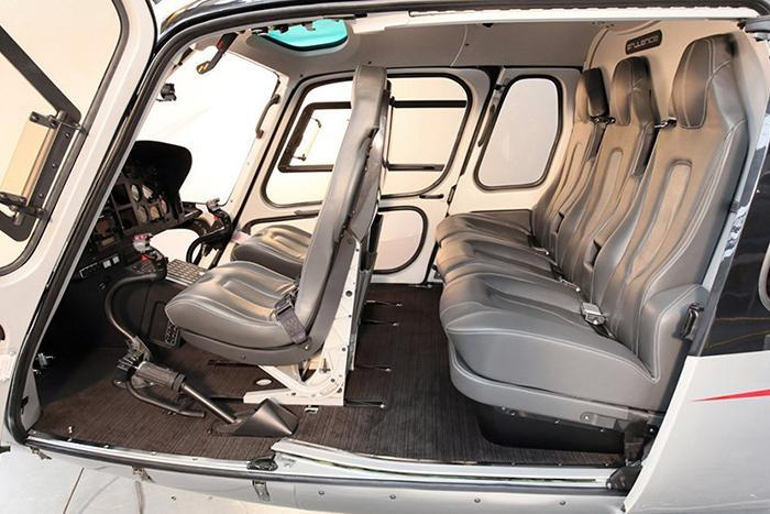 sennair AIRBUS Helicopter interior